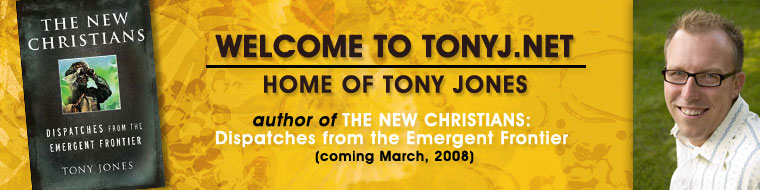 tony jones book